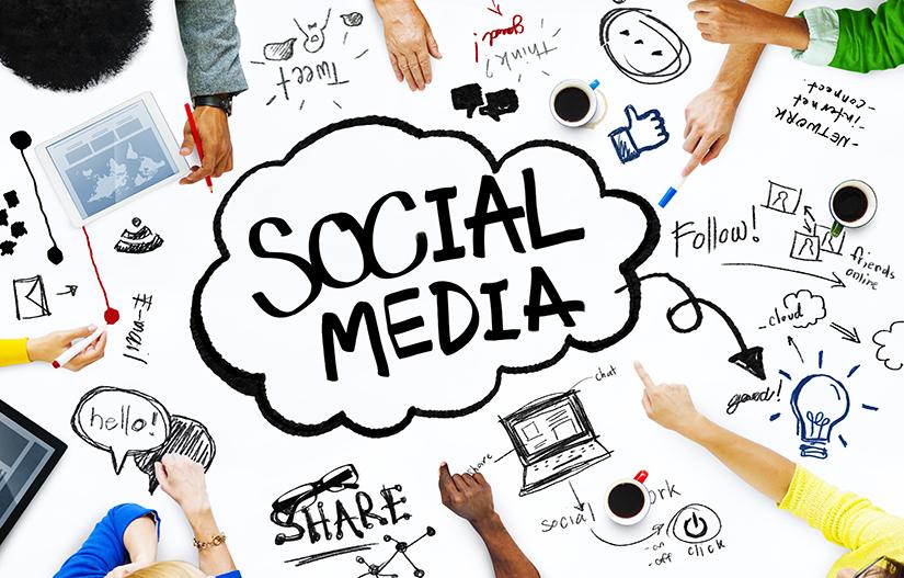 Develop a social presence