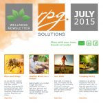 RPG Solutions wellness newsletter